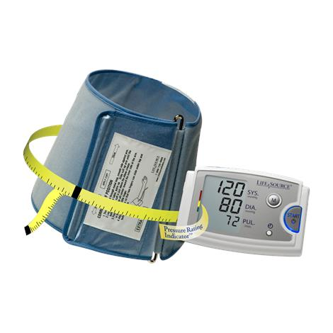 """A&D Medical Extra Large Arms Pressure Monitor,Extra Large Cuff fits arms 16.5"""" to 23.6"""",Each,UA-789AC"""