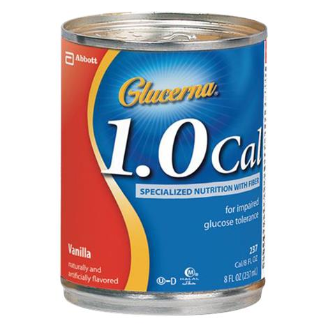 Abbott Glucerna 1.0 Cal Abnormal Toleranceal Drink With Fiber,6/Case,62673