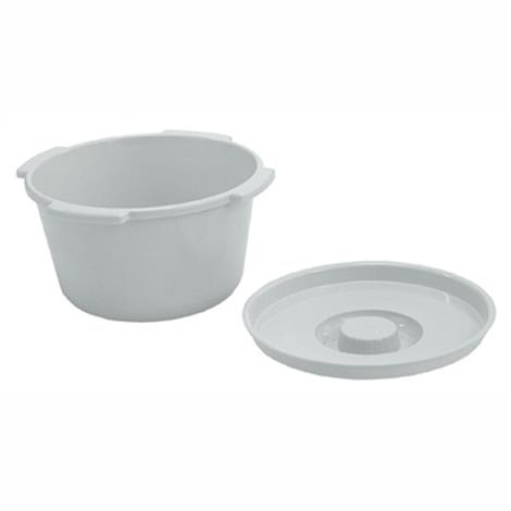 Graham-Field Lumex Everyday 7 qt Commode Pail,7 Qt Commode Pail Without Cover,Each,PP600009