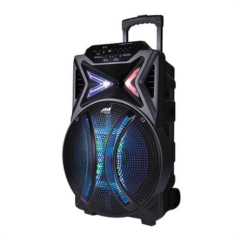 Naxa Portable Bluetooth Karaoke Speaker,Bluetooth Speaker,Each,NDS-1510