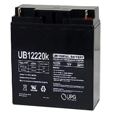 Drive 12AH Battery For Four Wheel Travel Power Scooter,12AH Battery,2/Pack,LRM402109
