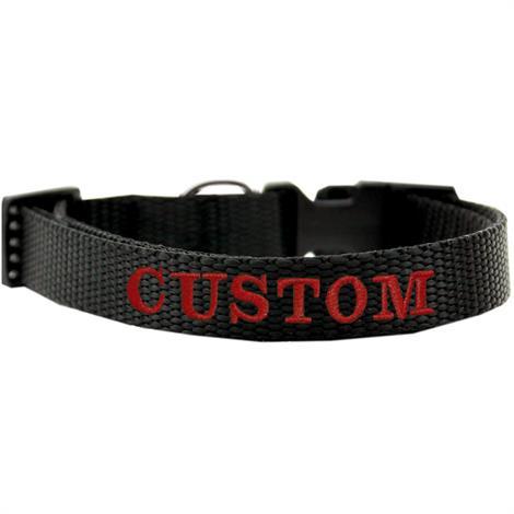Mirage Custom Embroidered Dog Collar