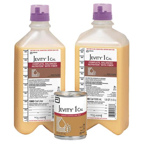 Abbott Jevity 1 Cal Complete Balanced With Fiber,1000ml,Ready-To-Hang Container,8/Case,62685