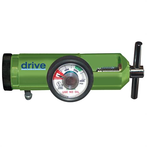 Drive 870 Mini Oxygen Regulator,0 LPM to 15 LPM,Each,18302GMN