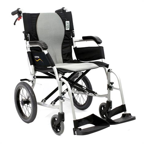 Karman Healthcare Ergo Flight-TP Ultra Lightweight Transport Wheelchair,0,Each,0