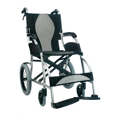 Karman Healthcare Ergo Lite S-2501 Transport Wheelchair,0,Each,0
