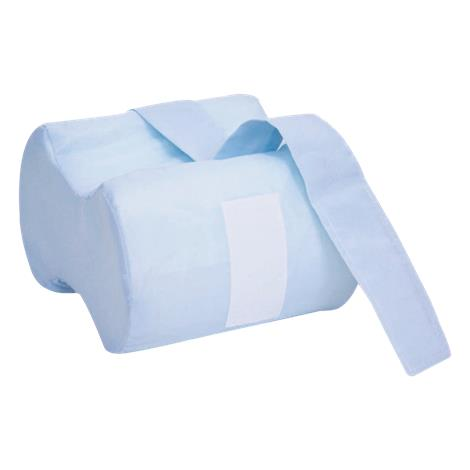 """Essential Medical Anatomic Knee Separator,Long Blue Cotton/Poly Cover,10"""" L X 8"""" D X 3-6"""" W,Each,N6400"""