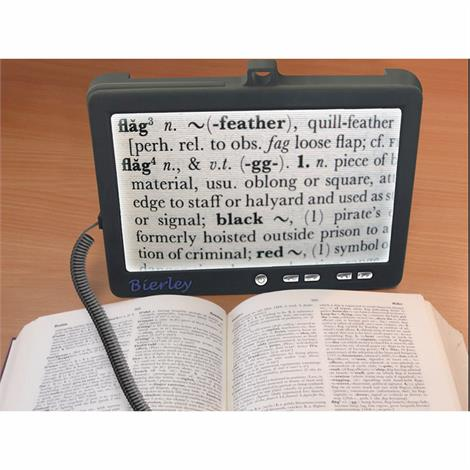 Bierley Shoppa Portable Electronic Magnifier,Variable Magnification - 5x to 9x,Each,S-7-Color