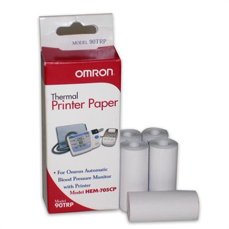 Omron Thermal Printer Paper for HEM-705CP BP Monitor,Printer Paper,50/Pack,90TRP