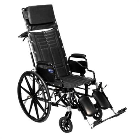 "Invacare Tracer SX5 18"" Recliner Wheelchair,18"" x 16"",Each,TRSX5RC8P"