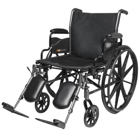 "Graham Field Everest and Jennings Traveler L3 Plus Wheelchair,Seat 16""W X 16""D,Elevating leg-rest,each,3F012230"