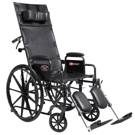 "Graham Field Everest And Jennings Advantage Recliner,Seat 20""W x 17""D,Full Arm,ELR,Each,3K010350"