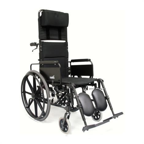 Karman Healthcare KM-5000 Self Propel Recliner Wheelchair,0,Each,0