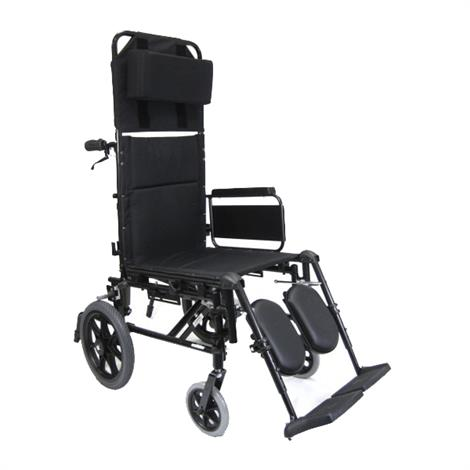 Karman Healthcare KM-5000-TP Ultralight Transport Reclining Wheelchair,0,Each,0