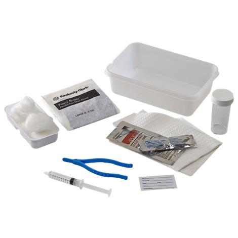 Covidien Curity Universal Catheterization Trays,With 10cc Prefilled Syringe,Cotton Balls and Forceps,Each,5029