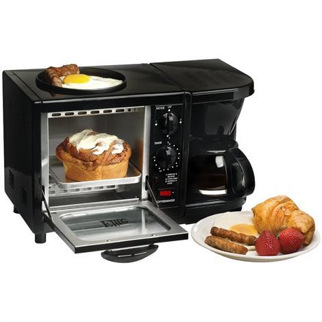 Elite Cuisine Multifunction 3-in-1 Breakfast Center,3-in-1 Breakfast Center,Each,EBK-200B