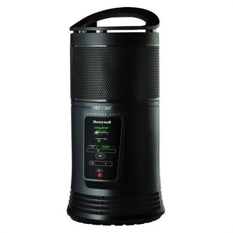 """Honeywell EnergySmart Ceramic Surround Heater,8.9""""L x 8.9""""W x 18.4""""H,Each,HZ-435"""