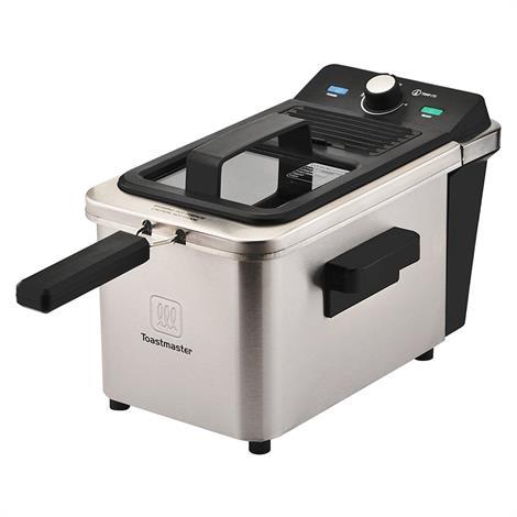Toastmaster 2.5 Liter Stainless Steel Deep Fryer,2.5 Liter Capacity,Each,TM-166DF
