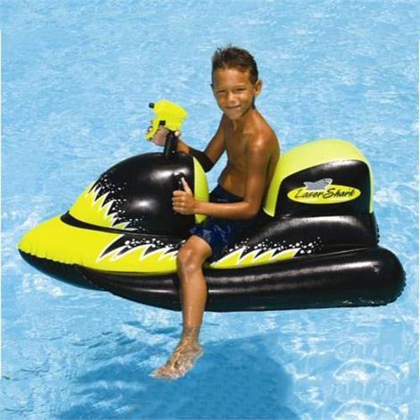Swimline Lasershark Wet-Ski Squirter,18.50 x 18.50 x 2.75,Each,9076
