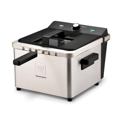 Toastmaster 4 Liter Stainless Steel Deep Fryer,4 Liter Capacity,Each,TM-168DF