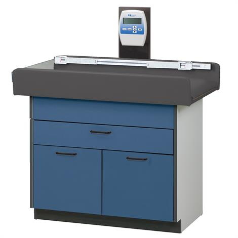 Clinton Select Series Pediatric Scale Treatment Table with Two Doors and One Drawer,0,Each,7830
