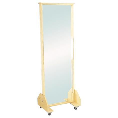"Armedica Mobile Posture Mirror,76""H x 26""W x 18""D,Each,AM-686"