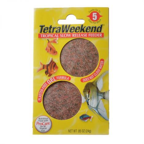 Tetra TetraWeekend Tropical Slow Release Feeder,5 Day Feeder,Each,77151