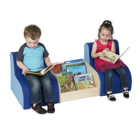 """Childrens Factory Comfy Reading Center,48"""" x 18"""" x 18"""",Each,CF805-165"""