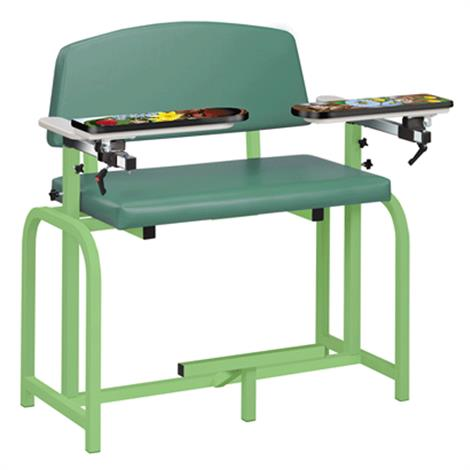 Clinton Pediatric Series Spring Garden Extra-Wide Blood Drawing Chair