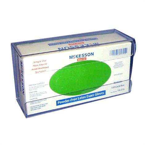 "McKesson Glove Box Holder,1-Box Clear,10"" L x 4"" D x 5-1/2"" H,10/Case,16-6534"
