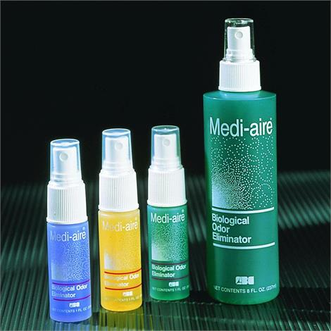 Bard Medi-Aire Biological Odor Eliminator,Fresh Air,1oz,Spray Bottle,24/Case,7024A