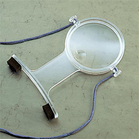 North Coast Medical Over-The-Neck Hands Free Magnifier,Lighted,Each,NC24036-L