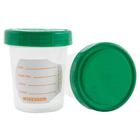 McKesson Non-Sterile Specimen Container,Without Closure - 6.5oz (192 mL),25Pack,20Pk/Case,560