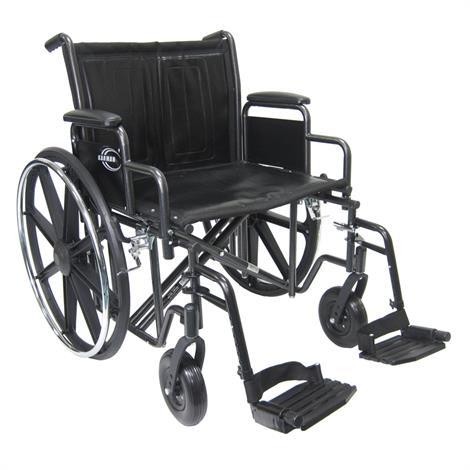 Karman Healthcare Extra Wide Heavy Duty Bariatric Wheelchair,0,Each,0