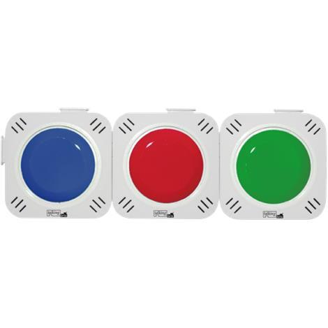 Talking Brix Communicator,2.56L x 2.56W x 0.6H,3/Pack,100-03400