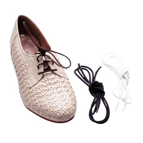 Drive Lifestyle Essentials Elastic Shoelaces,White,Pair,RTL2052