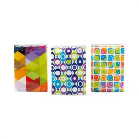 Medline Facial Tissue Pocket Packs,Facial Tissue,10/Pack,NON245273H