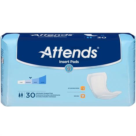 """Attends Insert Pads,Moderate,24"""",24/Pack,6Pk/Case,IP0400"""