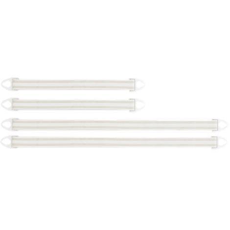 Hollister Leg Bag Straps,15L x 1-1/8W,Small,10Pair/Pack,9342