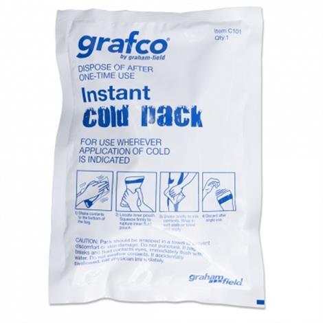 "Graham Field Disposable Instant Cold Packs,5"" x 5"",80/CS,C100"