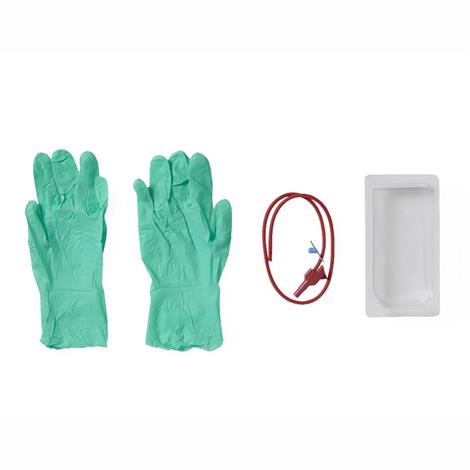 Medline Suction Poly-Cath Catheter Mini Tray with Gloves,14 Fr,100/Case,DYND48982 MIDYND48982