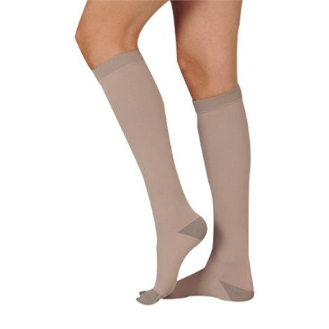 Juzo Silver Soft Knee High 20-30mmHg Compression Stockings 6307