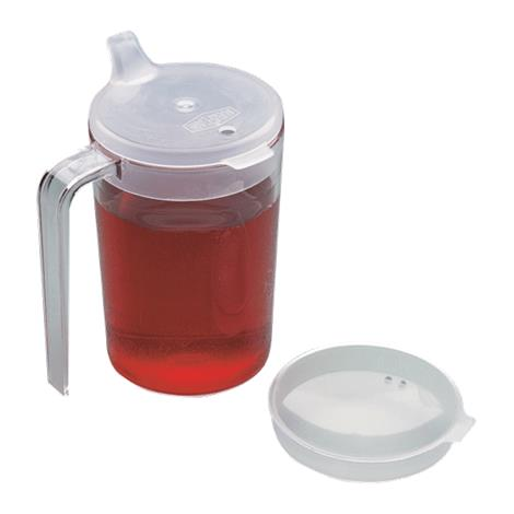 Clear Cup With Two Lids,Capacity: 10fl oz (296mL),Each,NC36155 NCMNC36155