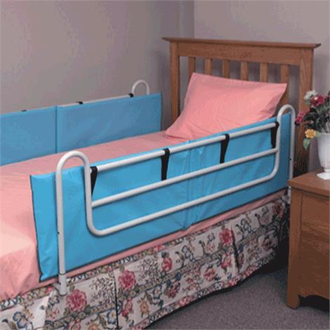 """Mabis DMI Vinyl Bed Rail Cushions,60"""" x 15"""" x 1/2"""",Pair,551-1964-0100"""