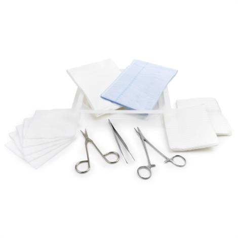McKesson Sterile Laceration Tray With Instruments,Laceration Tray With Instruments,20/Pack,16-221