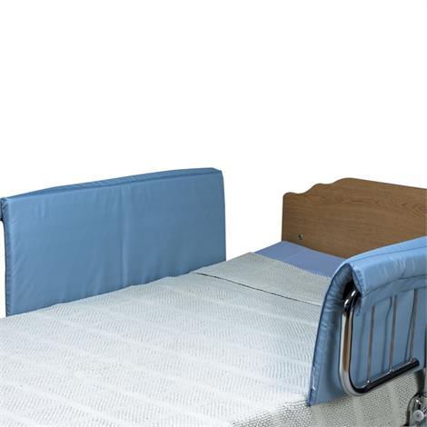 """Skil-Care Half-Size Vinyl Bed Rail Pads,36""""L x 14""""W x 1""""D,Pair,401090"""