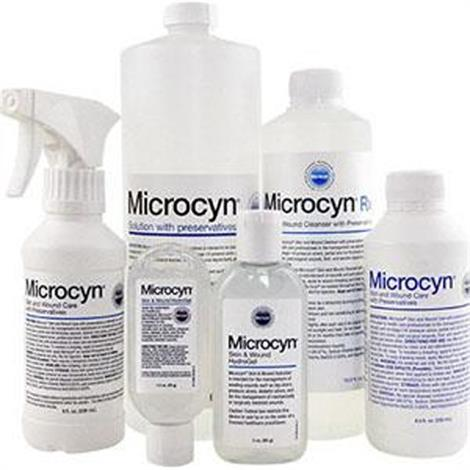 Oculus Microcyn Wound Solution with s,900ml,Bottle,Each,847816