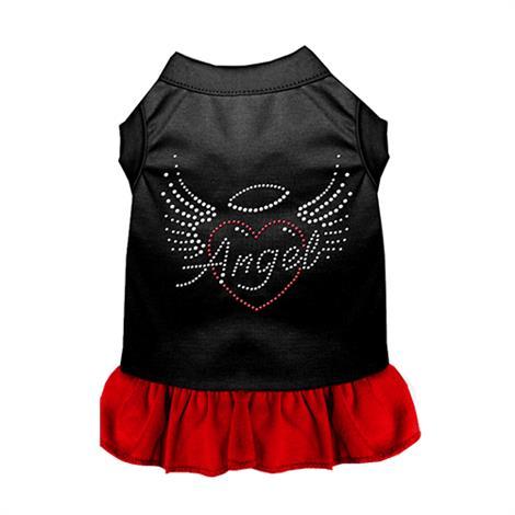 Mirage Angel Heart Rhinestone Dog Dress,0,Each,57-84