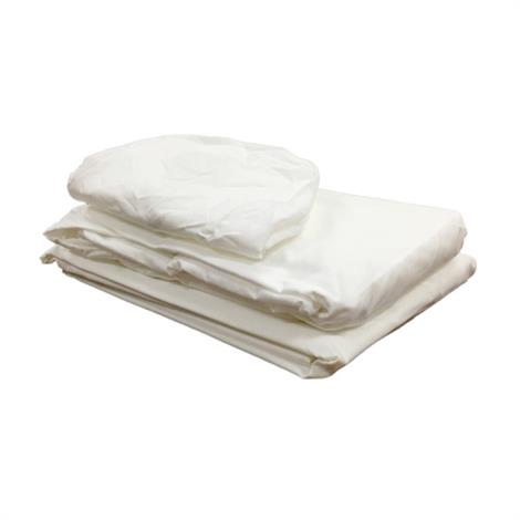 BodyMed 120 GSM Massage Sheets,Cream Flat Sheet,Each,BDMFLSCRM