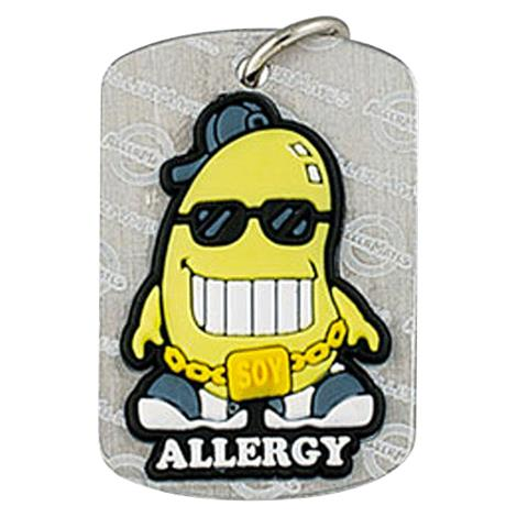 AllerMates Soy Cool Allergy DogTags,Soy Allergy Alert Dog Tag,Each,2554H